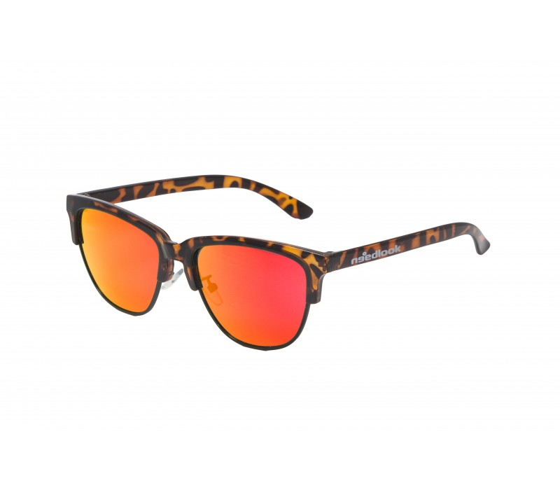 CLEAR LEOPARD/ORANGE