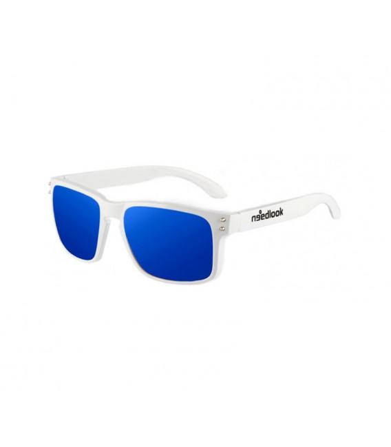 WHITE GLOSS / NAVY BLUE