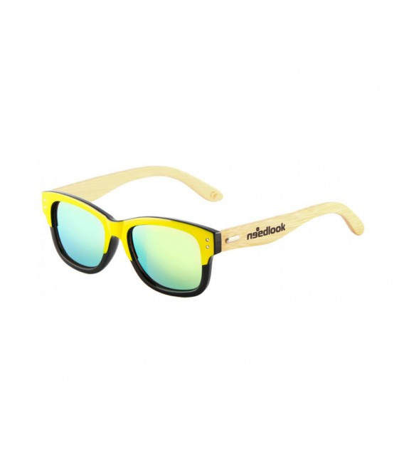 BAMBOO YELLOW GLOSSY / GREEN EMERALD