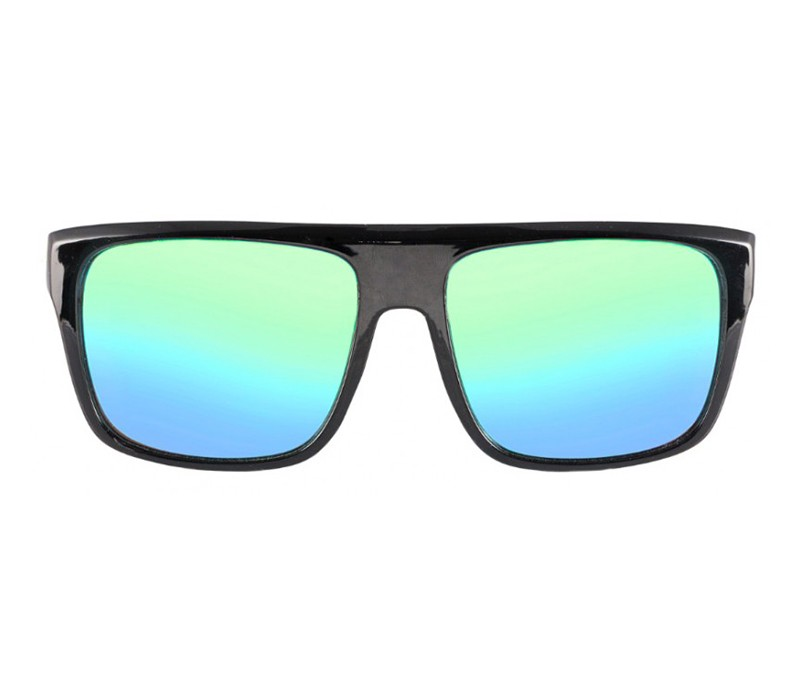 BAMBOO BLACK LINEAL GLOSSY / BLUE EMERALD