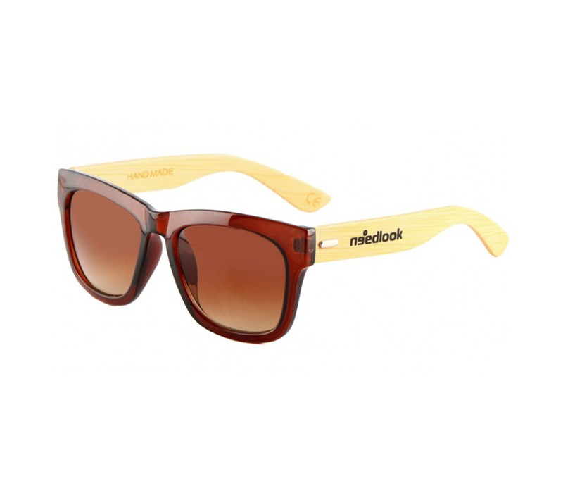 BAMBOO BROWN OVAL GLOSSY / BROWN