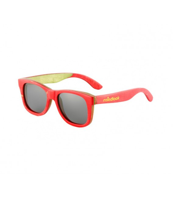 FULL BAMBOO RED WAYFARER / SMOKE